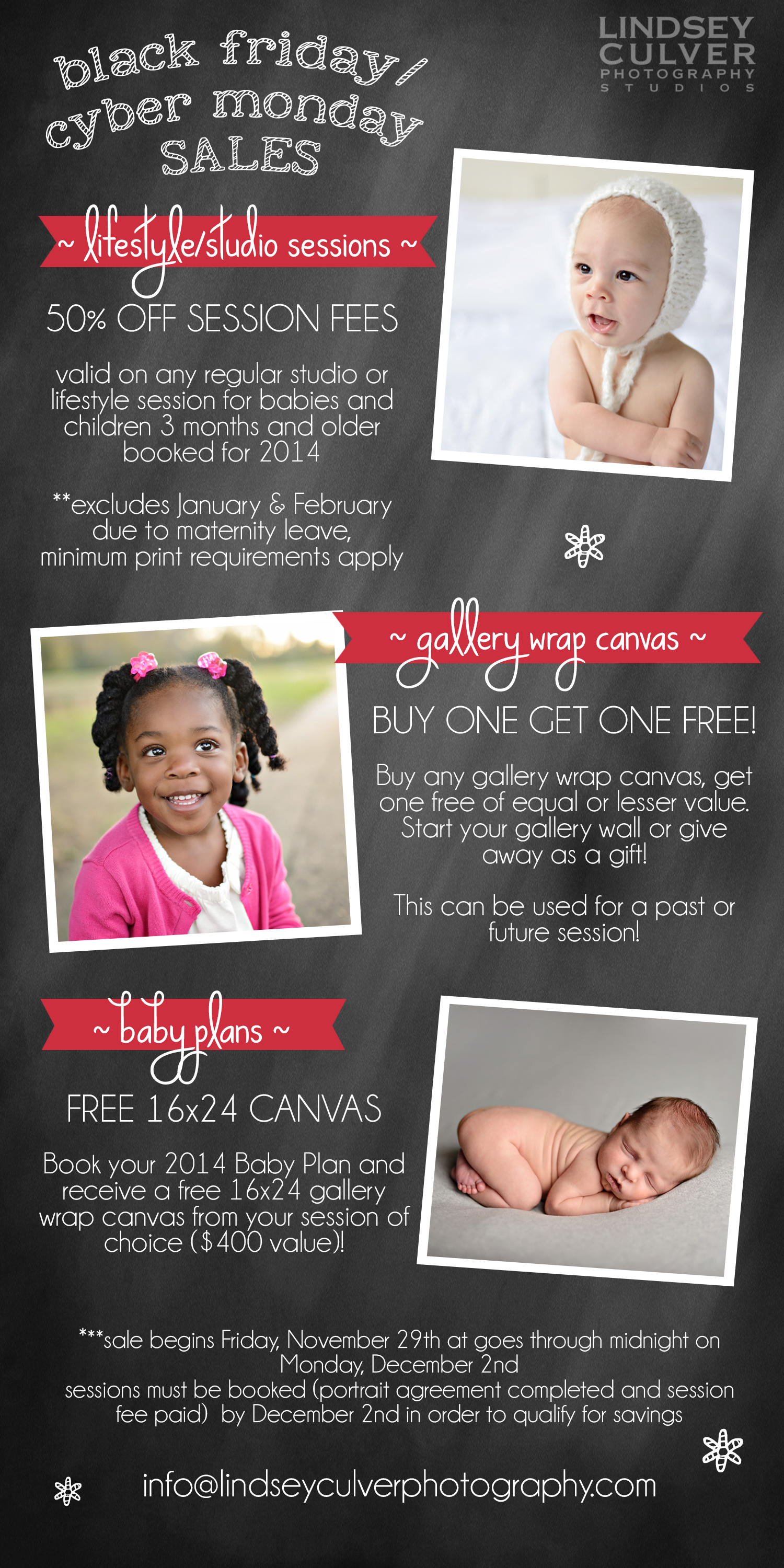 Black Friday Cyber Monday Specials Lindsey Culver Photography Birmingham Al Baby Photographer Lindsey Culver Photography Studios Birmingham Al Newborn Baby Child And Family Photographer